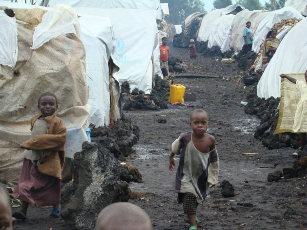 Nakivale refugee camp has been home to thousands of Congolese during and since DR Congo's civil war