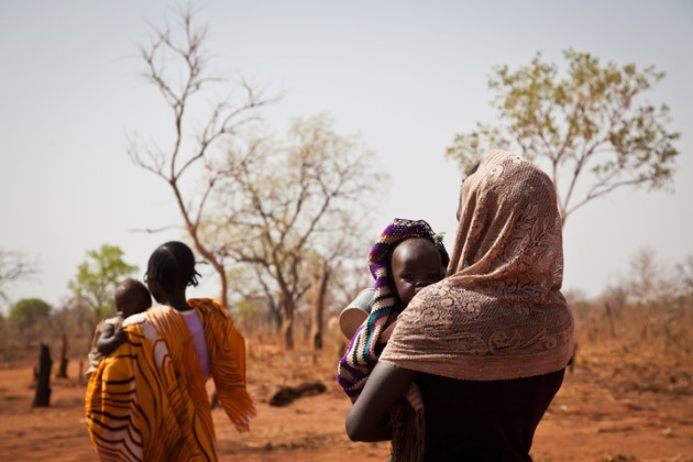 Many thousands have been been displaced along the border with South Sudan.